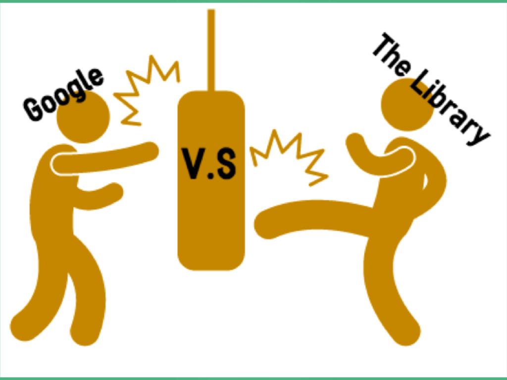 Google vs the Library